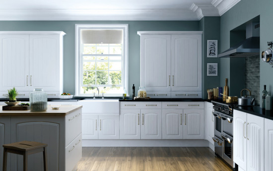 A trendy kitchen