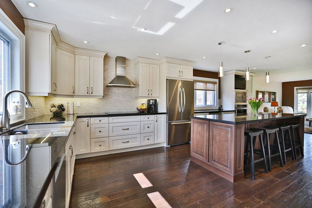 Kitchen Cabinets And Floor Designs